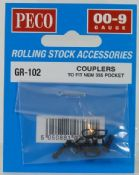 Peco GR102 GR-102 Couplers to fit NEM 355 Pocket
